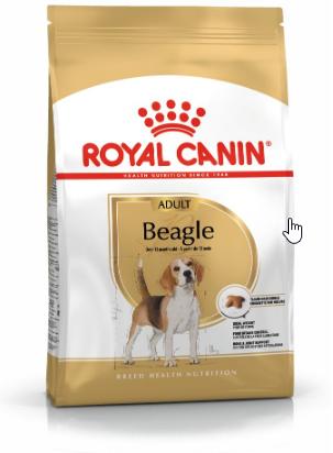 Ontdek onze unieke voeding voor de Beagle