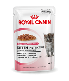 royal canin kitten instinctive in jelly. Black Bedroom Furniture Sets. Home Design Ideas