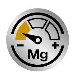 Laag magnesiumgehalte